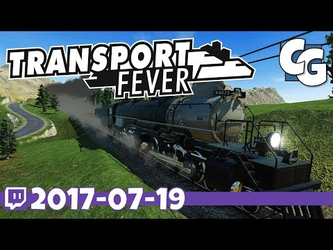Transport Fever - VOD - 2017-07-19 - World Cities 2 Map - Transport Fever Let's Play