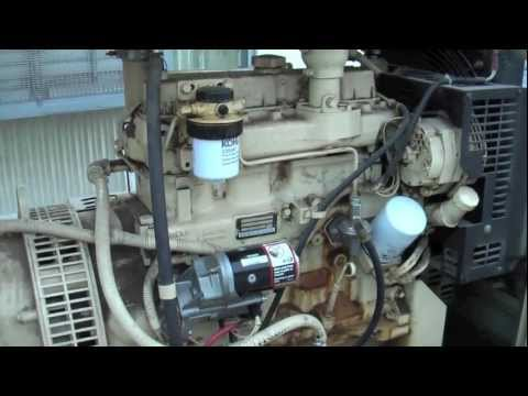 Generator Starter Solenoid Replacement and Load Test - YouTube