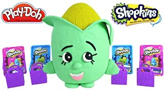 ULTRA RARE Shopkins Surprise Egg Opening Season 1 and 2 Play Doh Egg Plastilina Huevo Sorpresa