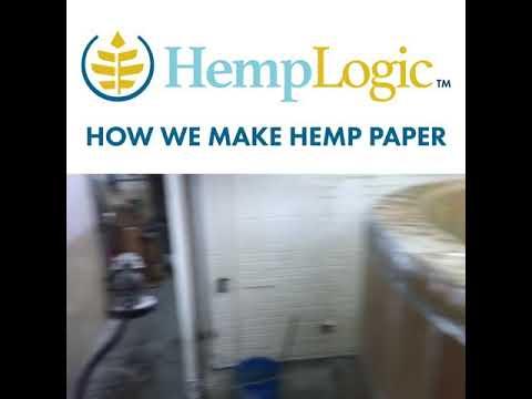 HempLogic Making Hemp Paper