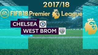 FIFA 18 Chelsea vs West Brom | Premier League 2017/18 | PS4 Full Match