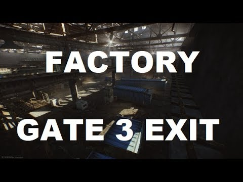 Escape From Tarkov Gate 3 Exit Factory Youtube