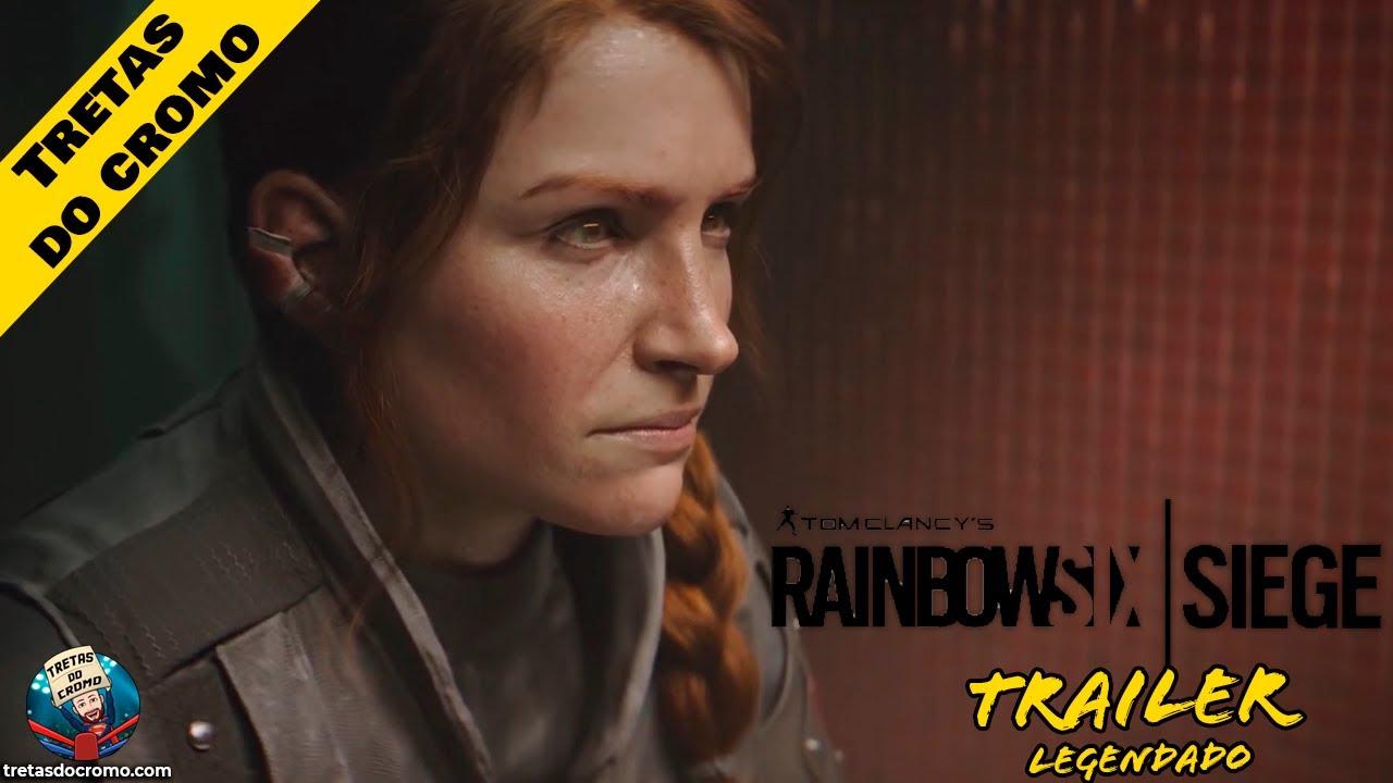 Rainbow Six Siege recebe trailer de história