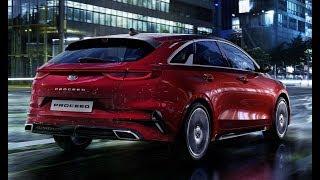 Совсем другой New Kia ProCeed 2019 Киа ПроСИИД review обзор interior интерьер exterior экстрерьер смотреть