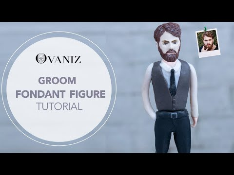 wedding-cakes-ideas-|-groom-cake-topper-|-fondant-man-|-fondant-groom