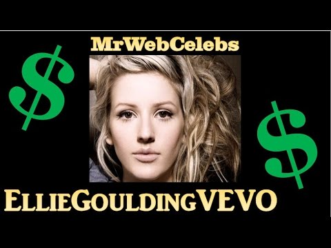 How much does EllieGouldingVEVO make on