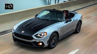 VIDEO: 2017 Fiat 124 Spider Abarth Exterior - Interior Design & Road Drive HD