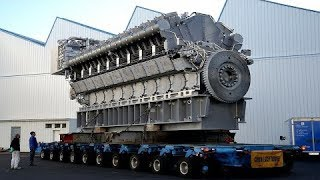 Extreme big engines startup 🚂💨💨