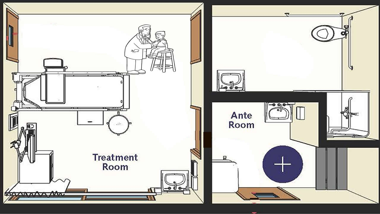 How to make an anteroom