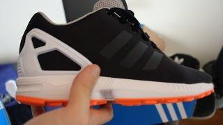 Unboxing Adidas Zx Flux + Shoebox Maze