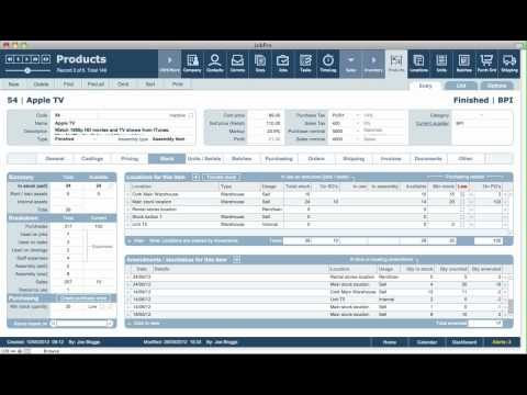 Products / Services Module Overview