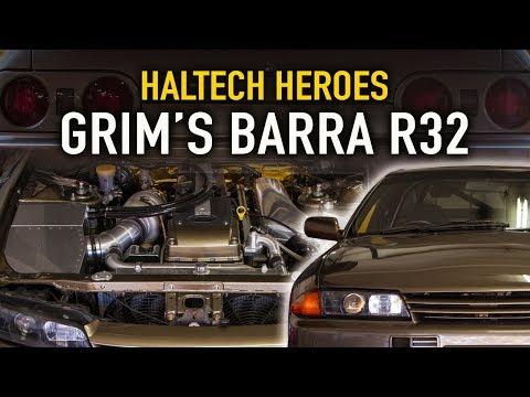 975hp, Barra powered Nissan R32 - Haltech Heroes