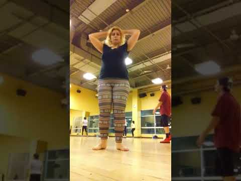 Suki Toons at Zumba with Lourdes Jr., Gold's Gym W. Covina 20180522 204159