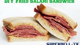 Diy Fried Salami Sandwich (#wehavethemeat)