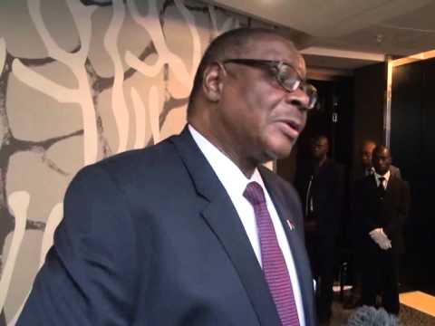 President Peter Mutharika in Mozambique