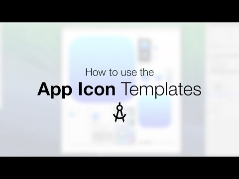 How to use the App Icon Template