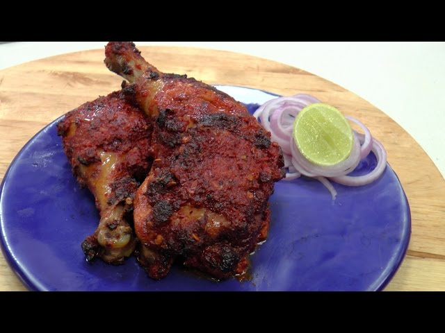 Spicy Chicken Legs Sanjeev Kapoor Khazana Youtube