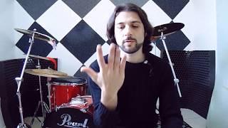 Aprenda 3 formas de girar as baquetas SUPER FÁCIL! Spin Drumsticks