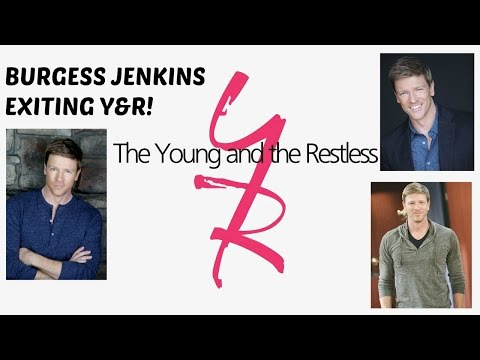 Burgess Jenkins Exiting The Young and The Restless!