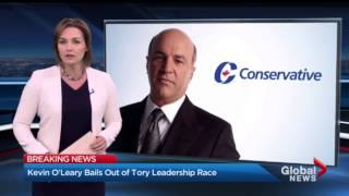 Kevin O'Leary drops out of Conservative Party of Canada leadership race