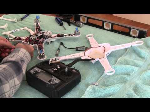 FreeX Quadcopter Throttle Calibration