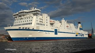 Peter Pan | TT-Line ferry after amazing 30m-extension now nearly 220 meter long | 4K-Quality-Video