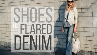 FASHION   7 Shoes to Wear with Flared Denim