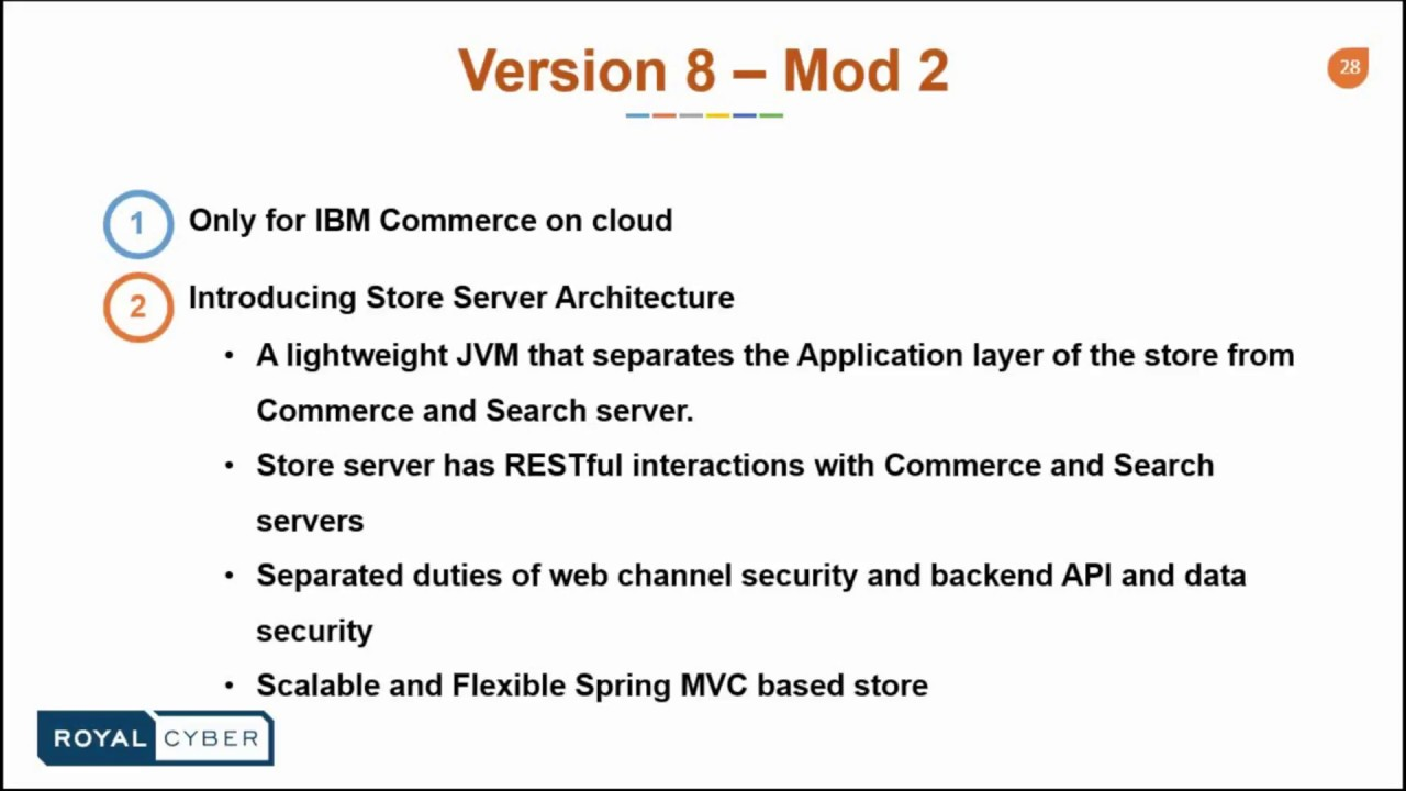 Why Migrate to WebSphere Commerce V8