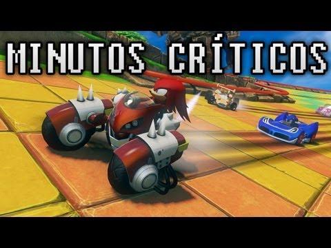 Sonic & Sega All-Stars Racing Transformed - Minutos críticos