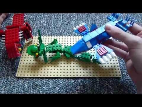 Lego pokemon groudon minelego s original design doovi - Lego pokemon rayquaza ...