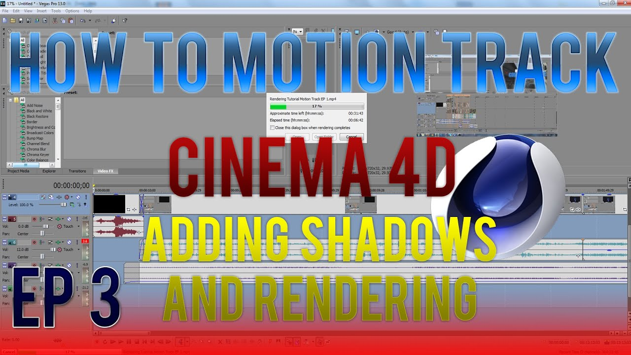 4d Shadow: 3D Motion Tracking Tutorial