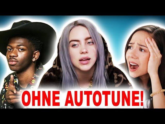 Sänger OHNE Autotune!!