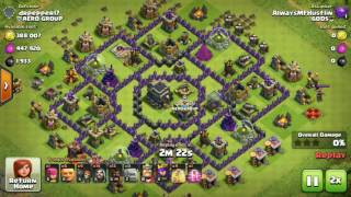 Clash of clans: HOW TO 100% CLEAR DEAD BASES 😱 BEST TECHNIC 👌