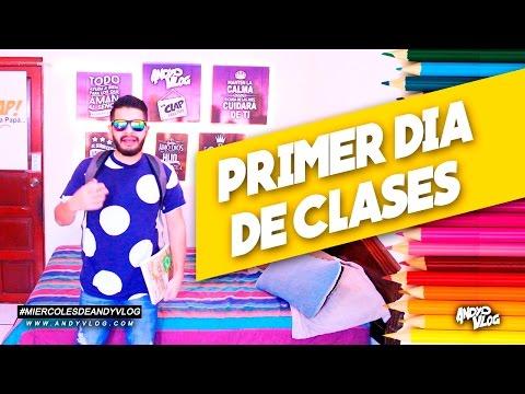 EL PRIMER DIA DE CLASES | AndyVlog!