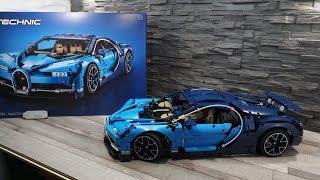 #27 ConceptBox LEGO Technic 42083 - Bugatti Chiron / Speedbuild / Unboxing