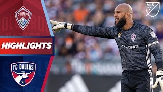 Colorado Rapids vs. FC Dallas | Tim Howard's Final Home Game | HIGHLIGHTS