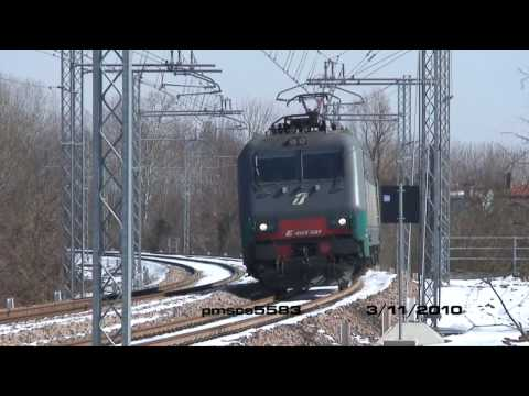 First tests on the new Mestre Junction Line