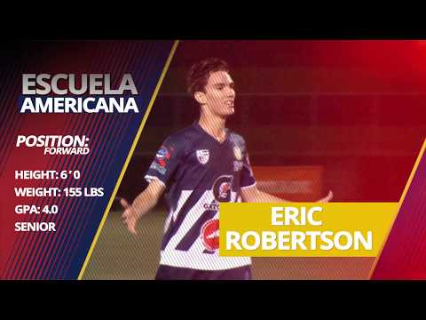 Eric Robertson College Recruitment Video - Class of 2018