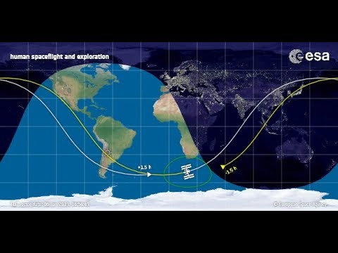 LIVE Tracking of International Space Station (ISS) - YouTube