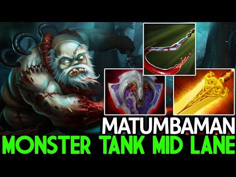 Matumbaman [Pudge] Monster Tanky Mid Lane WTF Game 7.21 Dota 2 thumbnail