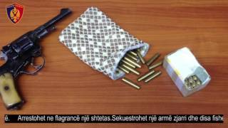 Lëviste  me armë zjarri me vete, por arrestohet në flagrancë nga Policia