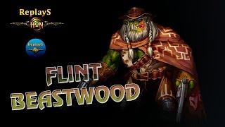 HoN - Flint Beastwood - OMGitsTiTO 1800 MMR 🇧🇷