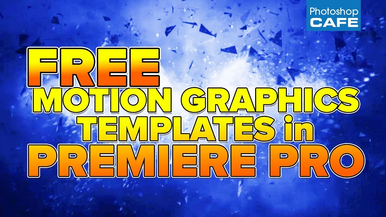 how to use the new motion graphics templates in premiere pro 2018 youtube. Black Bedroom Furniture Sets. Home Design Ideas