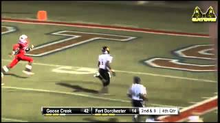 Tramel Terry Of Goose Creek Breaks Tackles For A 34 Yd Td
