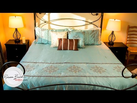 How to Perfectly Make a Bed, Fast with EASY Tips