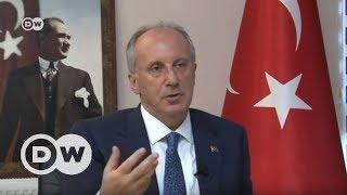 Muharrem İnce DW Türkçe'nin sorularını yanıtladı