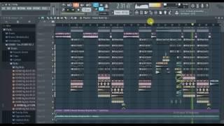 KSHMR & Marnik ft. Mitika Kanwar - Mandala FL Studio 12 Full Remake