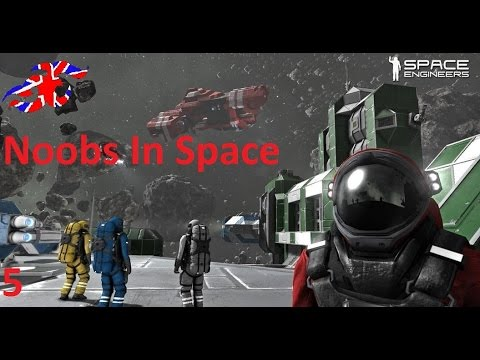 Space Engineers Ep 5 Welding the Abomination