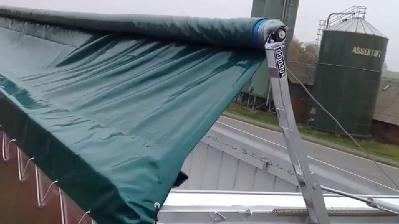 Ecotop Automatic Hydraulic Tarp Solution Hydraulische