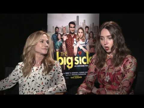 The Big Sick Full Interview Holly Hunter Zoe Kazan